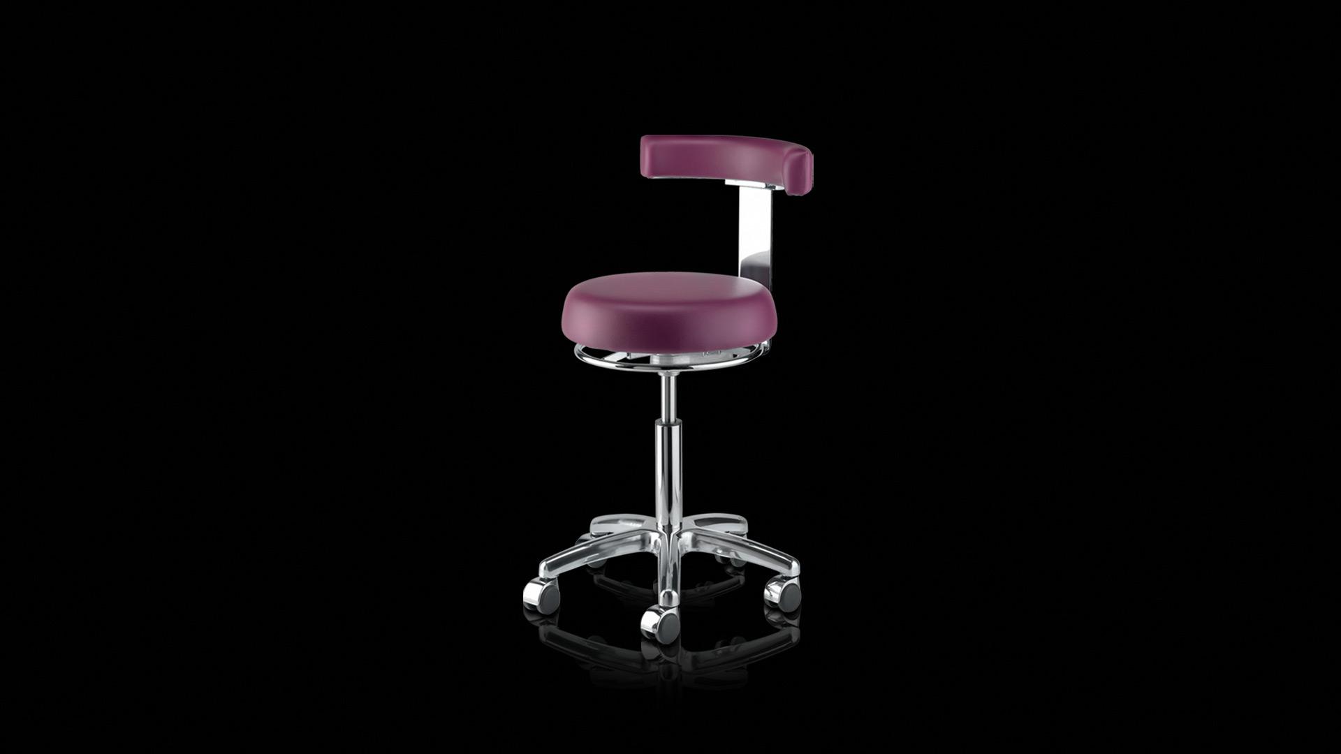 seggiolino viola - violet stool